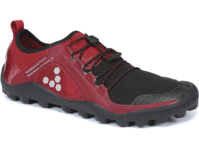 Vivobarefoot Primus Trail SG Mesh Shoes Women Black/Red